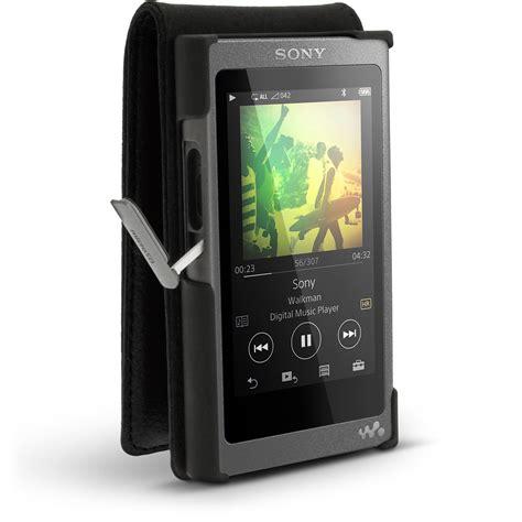Sony Walkman Nw A35 igadgitz leather flip cover for sony walkman nw a35
