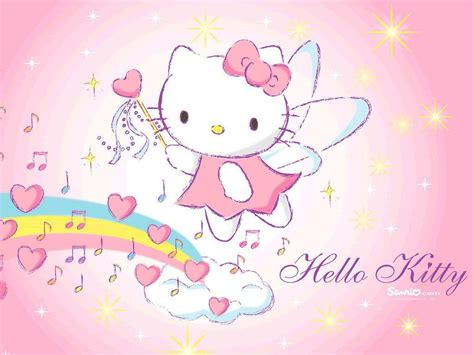 wallpaper hello kitty yg bisa bergerak backgrounds of hello kitty wallpaper cave