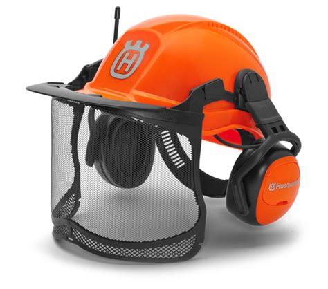 Fm Helm by Husqvarna Helmets Forest Helmet Functional With Fm Radio