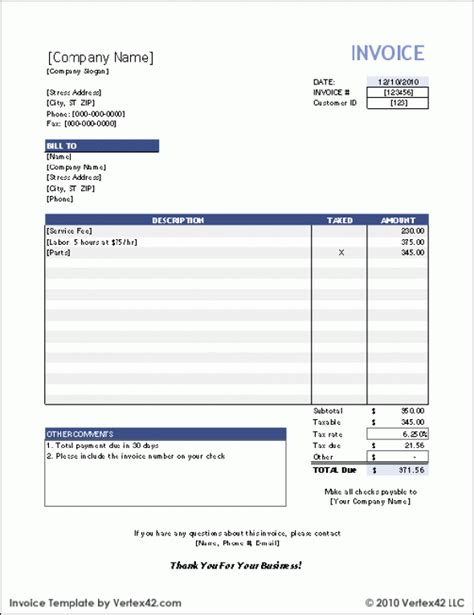 Ms Word Invoice Template Free by 40 Invoice Templates Free Premium