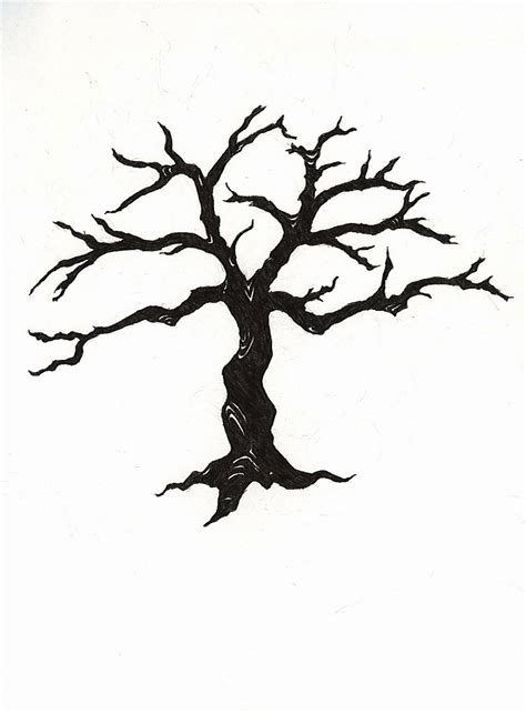 cool tree silhouettes clipart best