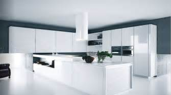 Modern White Kitchen Design Modern Pure White Kitchen Cabinets And Accessories Yara