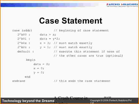8 case statement in verilog paradochart