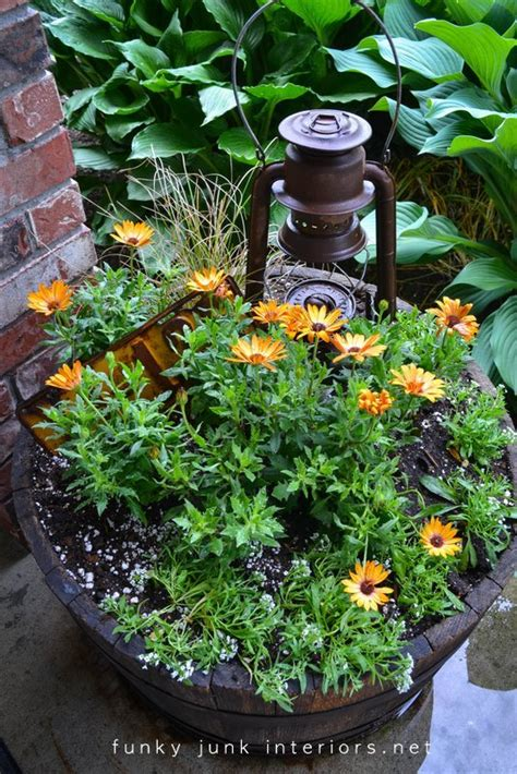 Funky Garden Ideas Creating Garden With Junkfunky Junk Interiors