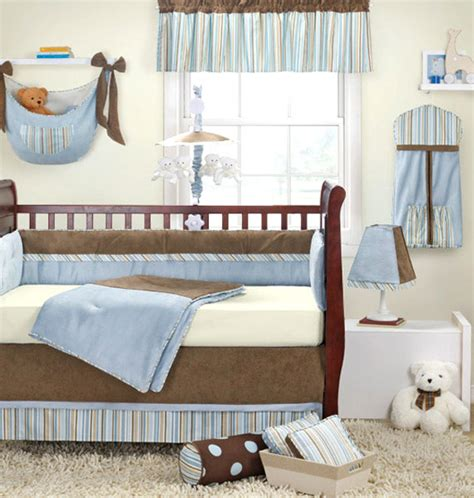 Banana Fish Baby Boy 4pc Crib Bedding Nursery New Fishing Crib Bedding