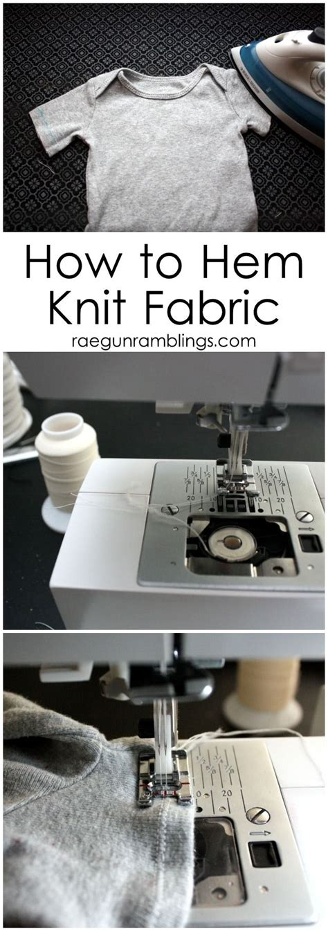 hemming knit fabric the secret to hemming knit fabric its all in what type of
