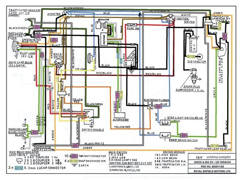 royal enfield bullet electra wiring diagram 28 images