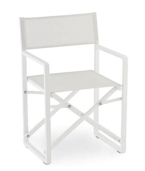 sedie pieghevoli alluminio sedia pieghevole in alluminio e textilene per esterni