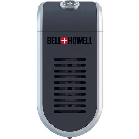bell howell ionic maxx air purifier and ionizer with uv germicidal protection walmart