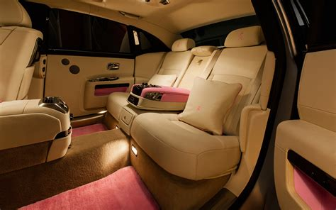 customized rolls royce interior rolls royce ghost ewb breast cancer pink interior 1 photo 27