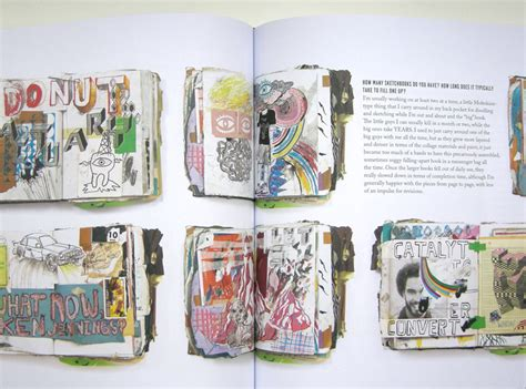how to do a sketchbook in a peek inside favorite artists