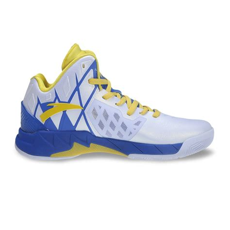 golden state warriors basketball shoes anta klay thompson kt1 golden state warriors home away