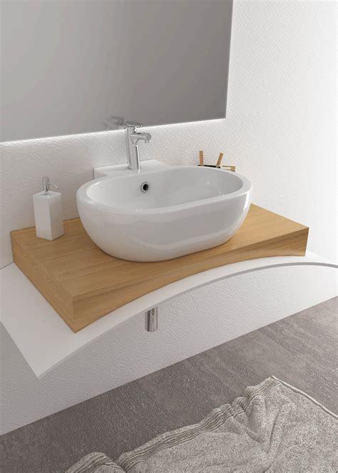 höhe bidet lavabo da appoggio o sospeso 60x51 sally