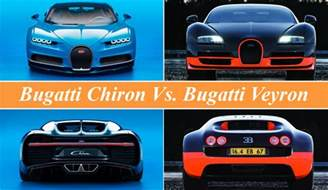 bugatti chiron vs bugatti veyron news top speed