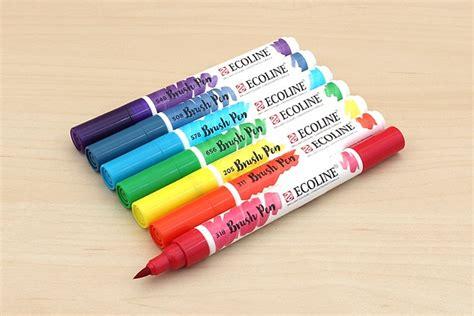 water color pens the best watercolor brush pens jetpens
