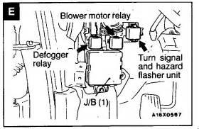 1996 galant i no turn signals but do hazards i