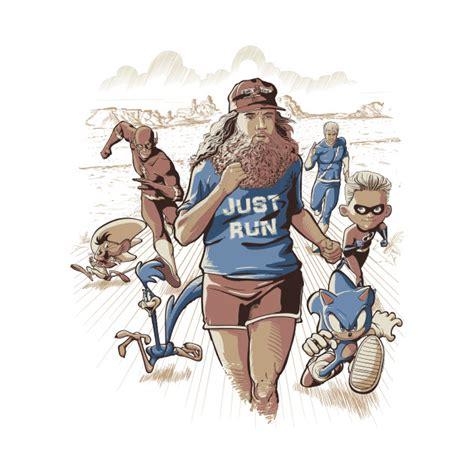 T Shirt Just Run just run forrest gump t shirt by redbug the shirt list