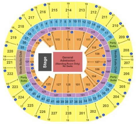 key arena floor plan key arena tickets and key arena seating chart buy key