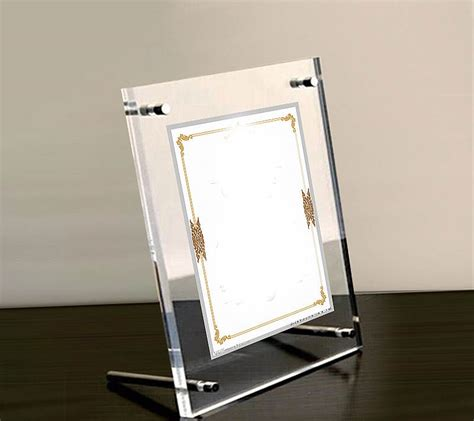 buy wholesale thick acrylic frame from china thick