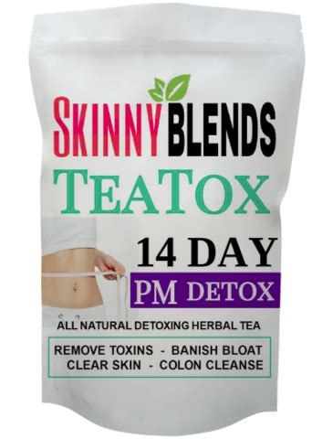 Thin Tea Detox Plan by 14 Day Teatox Tea Infuser Blends