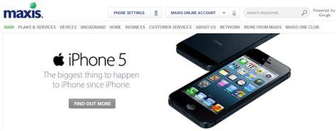 maxis unveils iphone 5 bundle plans celcom taking booking fees digi still zen lowyat net