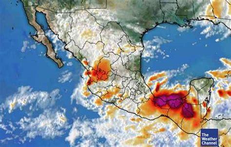 imagenes satelitales del servicio meteorologico nacional prev 233 n ambiente de fr 237 o a muy fr 237 o y heladas en gran parte
