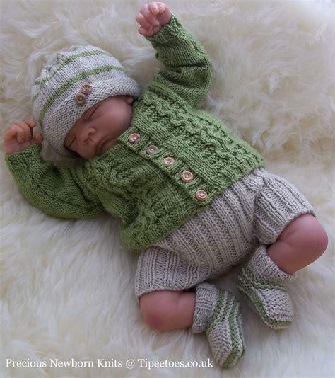 reborn baby knits baby knitting pattern to knit boys reborn dolls cardigan