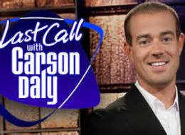 Nbcs Last Call With Carson Daly Plans To Defy Writers Strike And Resume Production by Nbc Picketer Strike Breaker Daly Quot Almost Ran Me Quot