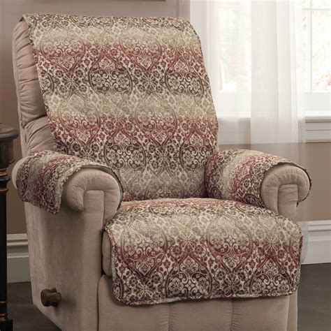 Patterned Recliner Chair by Jubilant Medallion Patterned Furniture Protectors