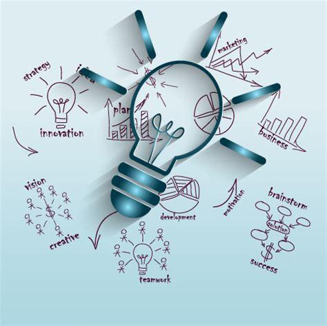 creative business idea template graphics vector 02