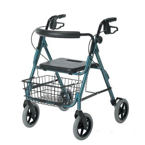 medline guardian deluxe rollators with 8 quot wheels rollator