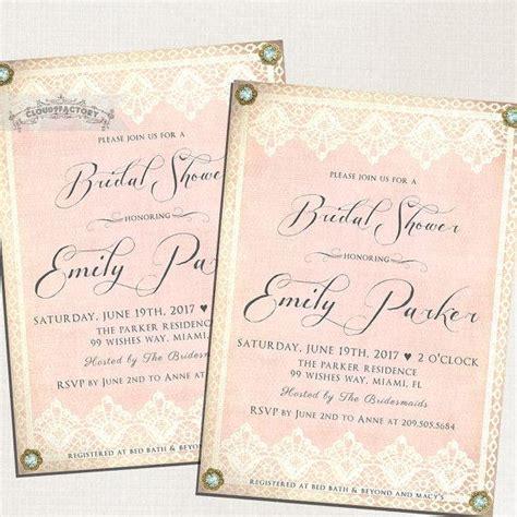 gold lace formal elegant wedding dinner menu 4x9 25 blush pink bridal shower invitations vintage lace gold and