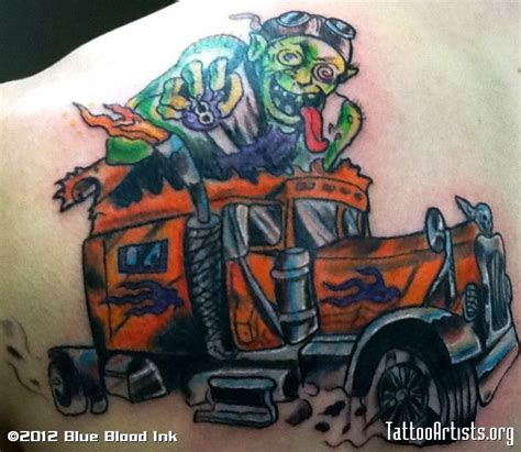 semi truck tattoo designs 32 best truck stencils images on
