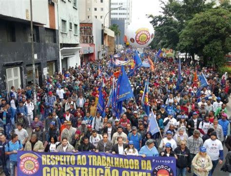 reajuste salarial da construcao civil 2016 trabalhadores da constru 231 227 o civil entram em greve por