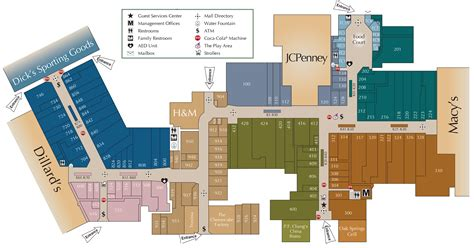 Layout Of Fayette Mall | mall directory fayette mall
