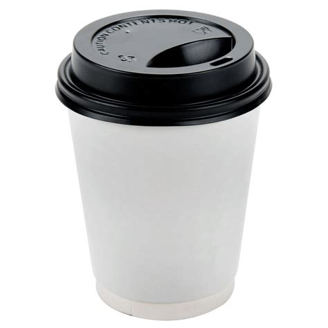 Cup With Lid choice 8 oz black paper cup travel lid 1000