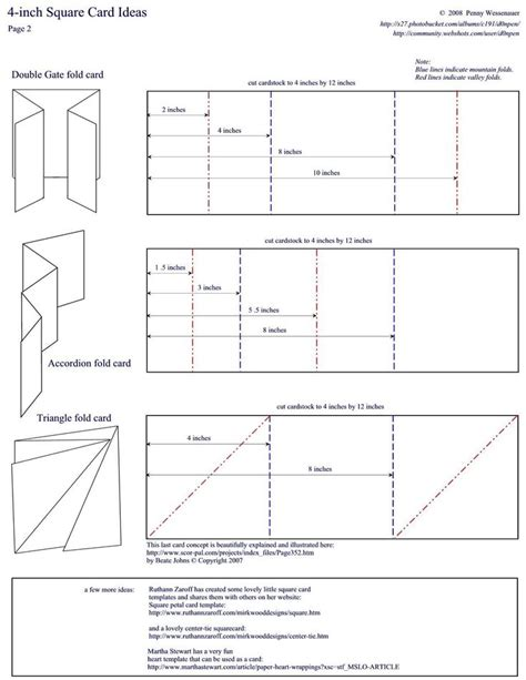 Accordion Gate Fold Card Template by Best 1042 Paper Craft Images On Diy And Crafts