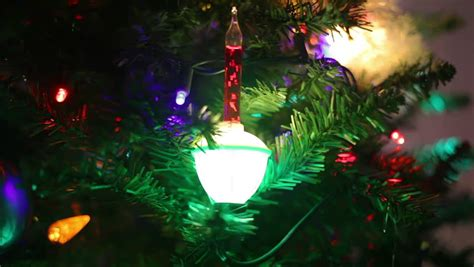 does 7 11 sell christmas lights closeup of a tree focusing on the lights and ornaments stock footage