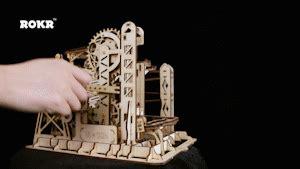 decorations crosswordgif magic crush marble run model building kits lift coaster lg503 robotime