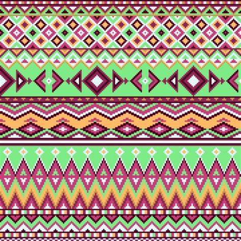 aztec pattern ai geometric background aztec pattern vector free download