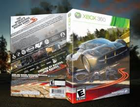 project cars xbox 360 box cover by spiderpig24
