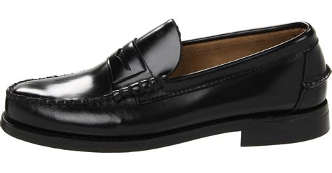 Original Bnwb Sebago Canton Slip On Black sebago classic in black for lyst