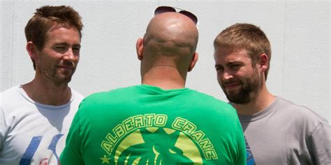 fast and furious paul walker brother first photo paul walker s brothers on set of fast