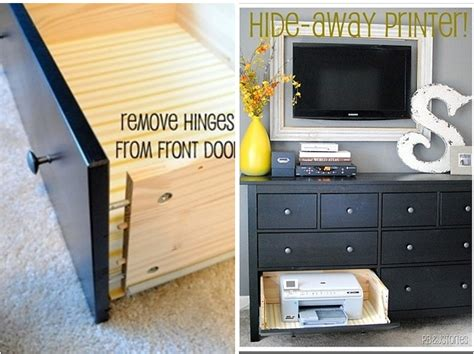 hide printer 25 geniusly creative ways to hide the eyesores in your home