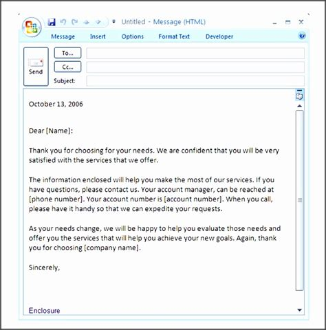 9 Free Business Introduction Email Template In Outlook Sletemplatess Sletemplatess Custom Email Template Outlook