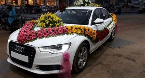 wedding car audi car rentals for wedding audi a6 patra tours and travels