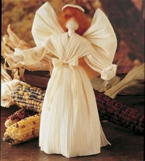 mini corn husk doll in july fifty to craft for