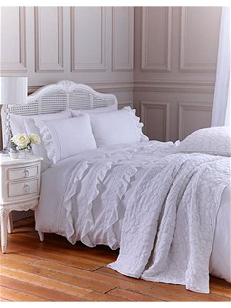 shabby chic white broderie bed linen house of fraser
