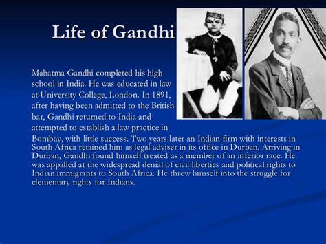 mahatma gandhi biography in hindi ppt new microsoft power point presentation
