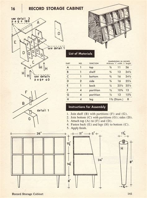 diy stereo cabinet plans woodworking projects plans